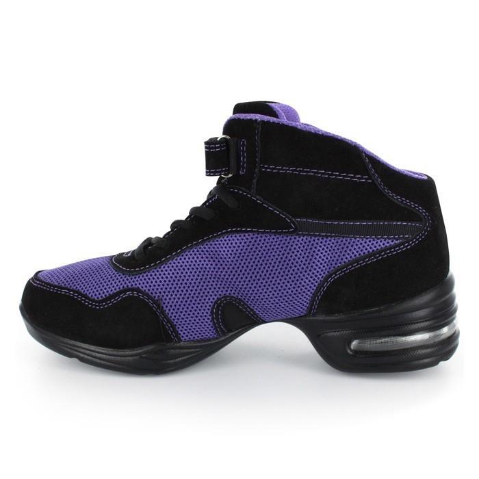 c719cb0a921fab Black   Blue Dance Sneaker DS61601