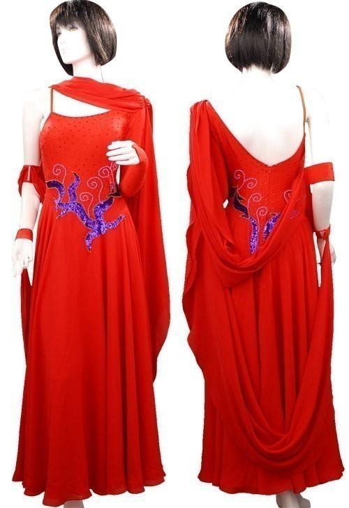 342f66f9ffd0 Ballgown B148 Ballgown B148. Red Lycra & Chiffon Dress SZ-HYJ-B148 ...