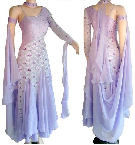 37ed1a2130c6 Ballgown DR7003 Ballgown DR7003. Light Purple Lycra & Chiffon Dress ...
