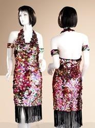 Latin Dress L043