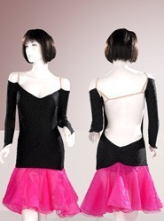 Latin Dress L129