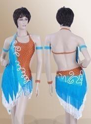 Latin Dress L340