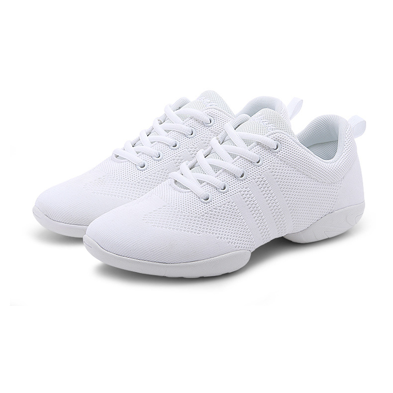 competitive price 6ab83 3fcc2 White Net Dance Sneaker DS670801
