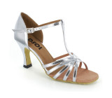 Silver Patent Leather Sandal  LS161202
