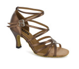 Bronze Patent Leather Sandal  LS162105
