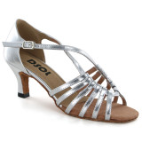 Silver Patent Leather Sandal  LS166102