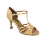 Tan Satin Sandal  LS168301