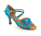 Blue satin Sandal  fls1699-5