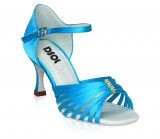 Blue Satin Sandal with  LS171205-1