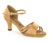 Flesh Satin Sandal  A260202