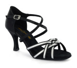 Black Ladies Sandal  adls278102