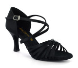 Black Ladies Sandal  adls278502