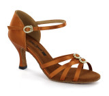 Brown Ladies Sandal  adls278801