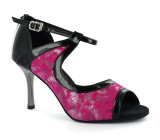 Pink and Black Sandal  adls279208
