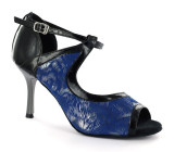 Blue and Black Sandal  adls279209
