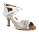 Flesh and silver Sandal  adls279211