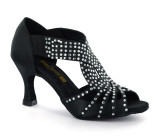 Black Ladies Sandal  adls279504