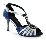 Blue and silver Sandal  adls280802