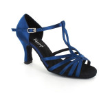 Blue satin Sandal  fls6718-2