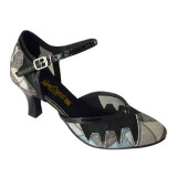 Multi-color Patent Leather & Mesh Sandal adlp787501
