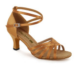 Tan Satin Sandal  A261303