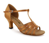 Tan Satin Sandal  A269301