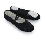 Black Canvas Slippers  BL700101