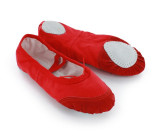 Red Canvas Slippers  BL700102