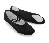 Black Canvas Slippers  BL700201