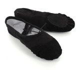 Black Canvas Slippers  BL704001