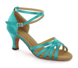 Blue satin Sandal  D2613-1