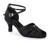 Black Satin Sandal  DC271308