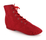 Red Canvas Jazz Boot  JZ720102