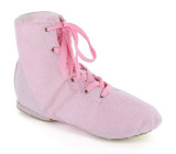 Pink Canvas Jazz Boot  JZ720103
