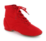 Red Canvas Jazz Boot  JZ721002