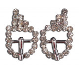 Stainless Rhinestone Buckle Style 02
