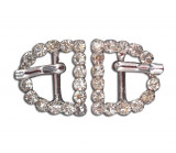 Stainless Rhinestone Buckle Style 03