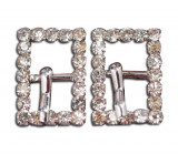 Stainless Rhinestone Buckle Style 05