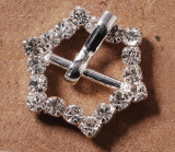 Stainless Rhinestone Buckle Style 07