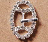 Stainless Rhinestone Buckle Style 08