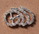 Stainless Rhinestone Buckle Style 09