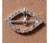 Stainless Rhinestone Buckle Style 11