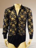 Mens Latin Shirt M008