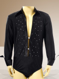 Mens Latin Shirt M009