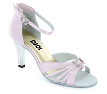 Light Pink Satin Sandal LS174203
