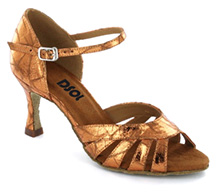 Brown patent Sandal  LS174506
