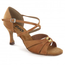 Tan Satin Sandal 175603