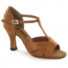 Brown Satin Sandal 177202