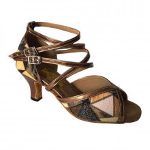 Multi-color Patent Leather Sandal adls263015