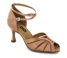 Flesh satin Close-toe  LS271303